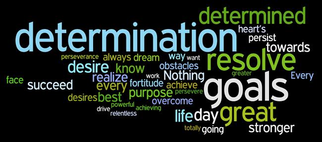 determination word