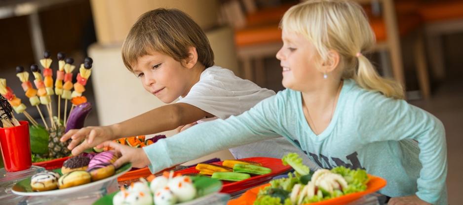 Make kids choose between healthy foods