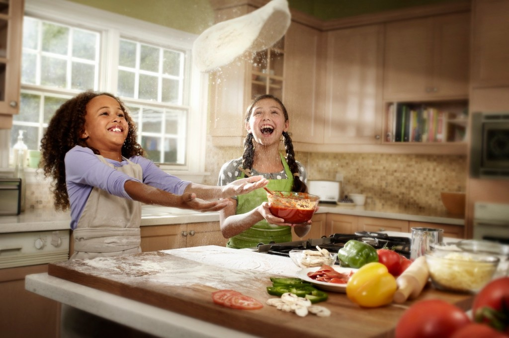 Kids love to eat the food prepared by themselves