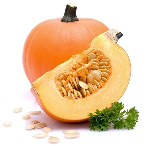 Pumpkin seeds serve as a light snack
