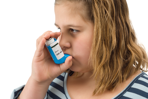 Children, especially obese kids are prone to asthma