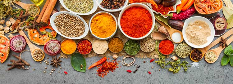 Seasonings help avoid salt in foods