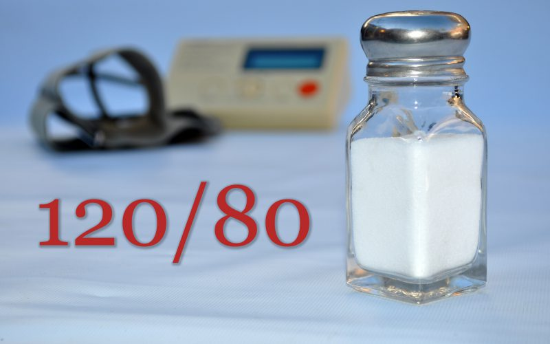 Minimum sodium is added from the food we eat