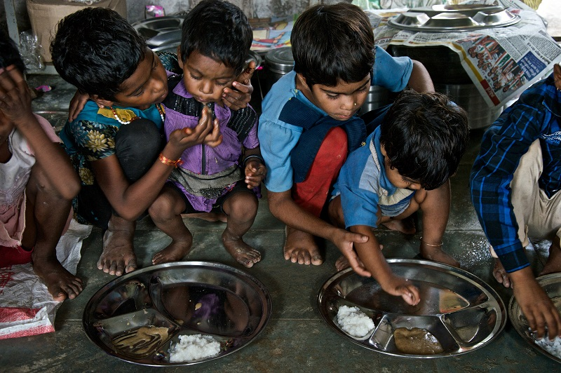 Lack of access to food contributes to malnutrition greatly