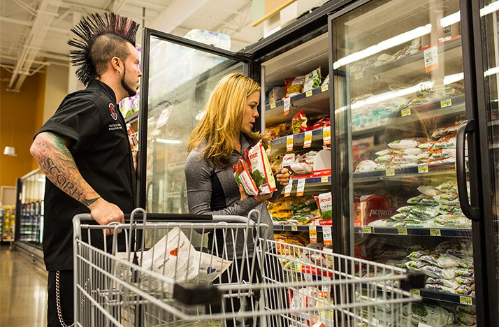 Packaged foods are the least nutritious option