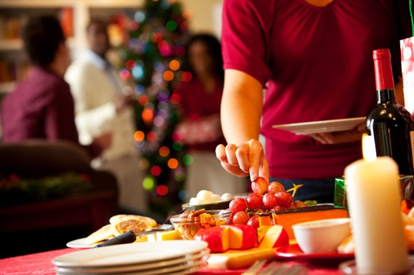 Control food intake during holiday season